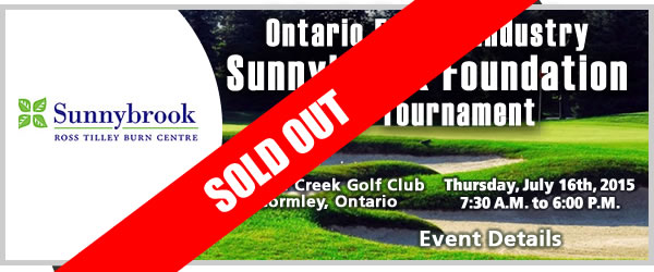 2015 Ontario Energy Industry Charity Golf Tournament